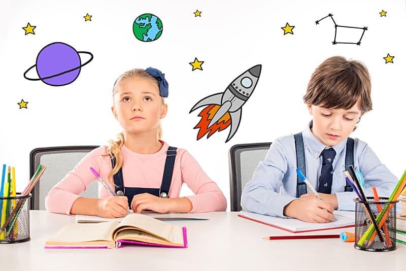 dzieci w szkole marzeń