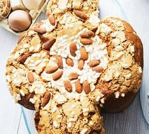 Wielkanocne ciasto z Italii